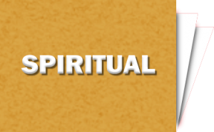 For your spirit